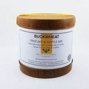 Buckwheat Pancake Mix is naturally nutty with undertones of vanilla. 16 oz