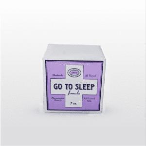 Go To Sleep Bath Cube is made with essential oils of lavender with the calming property of valerian. 7 oz.