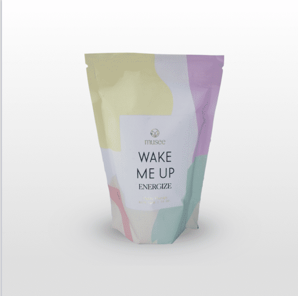 Wake Me Up Bath Soak can be used anytime you need a pick-me-up. Grapefruit and lemongrass invigorate and stimulate your senses. 24 oz.