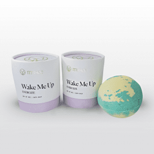 Wake Me Up Bath Balm can be used anytime you need a pick me up. Fill a tub with warm water, toss it in and breathe deeply. Lemongrass and grapefruit oils moisturize while stimulating the senses. 8 oz.