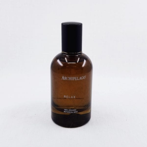 Relax Organic Botanical Mist is a pure and organic mist that can be used a cooling facial mist, room spray, and linen spray. Lavender oils are combined in a hydrosol base to create this relaxing mist. 1.7 oz.