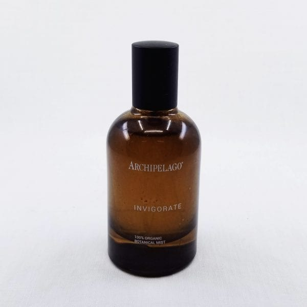 Invigorate Organic Botanical Mist is a pure and organic mist that can be used a cooling facial mist, room spray, and linen spray. Clear your mind and improve your energy with this mist that has lemon, peppermint, and grapefruit oils to invigorate your day. 1.7 oz.